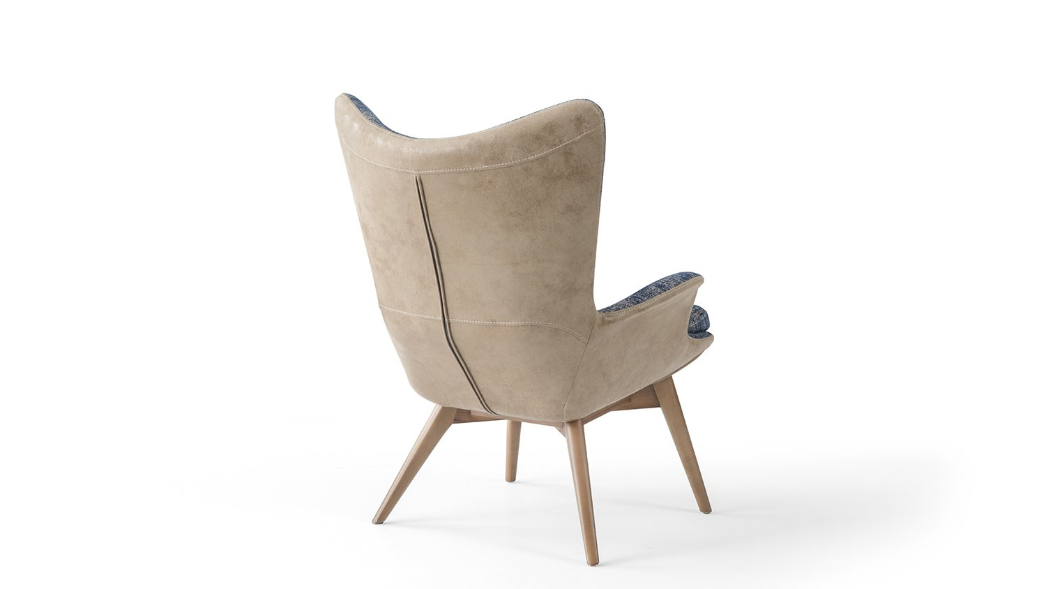 Armstrong - Fauteuil moderne au style rafiné