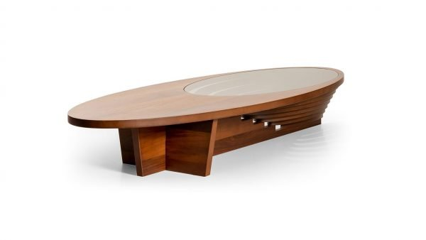 Matelot table basse en noyer