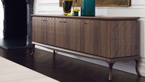 buffet marron design